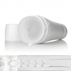 FLESHLIGHT FLIGHT INSTRUCTOR ICE / MASTURBADOR BLANCO