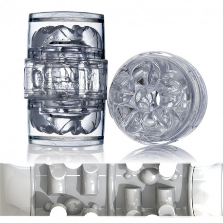 FLESHJACK QUICKSHOT VANTAGE ICE BRENT CORRIGAN / MASTURBADOR TRANSPARENTE