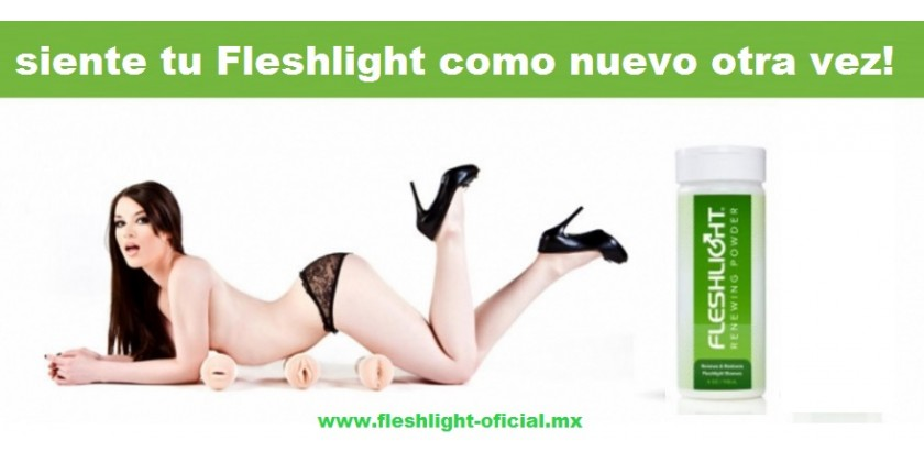RENEWING POWDER - Polvo Renovador que mantiene tu manga FLESHLIGHT como nueva